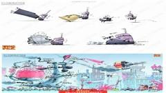 《神偷奶爸》动画概念设计原画设定资料集CG