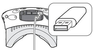 将 USB 设备连接到头戴式设备